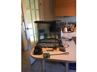 Fish tank and equipment