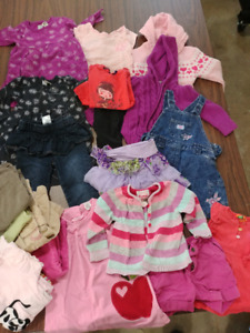 Girls 18 mth Clothing lot