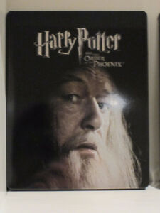 Harry Potter and the order of the Phoenix (Blu-ray Steelbook) West Island Greater Montréal image 1