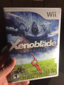 BRAND NEW SEALED XENOBLADE CHRONICLES FOR NINTENDO WII