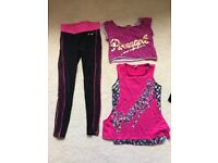 Girls Pineapple dance clothes Age 9
