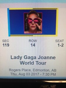 Lady Gaga  *** Excellent Seats***