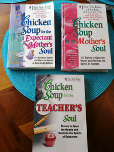 Chicken soup book's $5 each