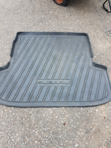 Subaru mat for back of Outback or Forester