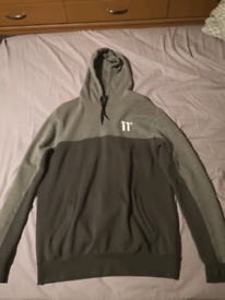 Mens 11 Degrees Hoodie & Tracksuit Bottoms