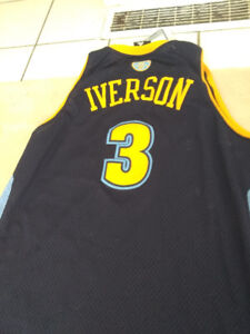 Iverson Nuggets Jersey
