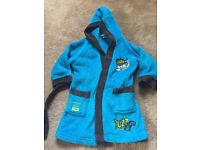 Boys dressing gown 12-18 months toy story