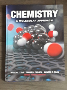 CHEMISTRY: A MOLECULAR APPROACH (SECOND CANADIAN EDITION)