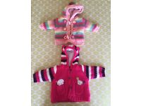 Baby girl hooded cardigans -3months