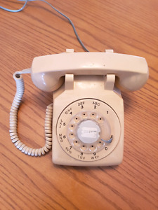 Old phone theater prop