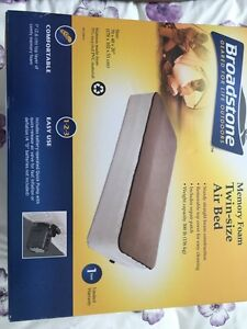 Memory Foam Twin Size Air Bed
