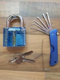 Pick set and practice lock