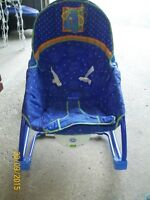 CHAISE BERCANTE-VIBRANTE - LINK-A-DOOS FISHER PRICE