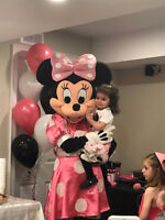PRINCESS BIRTHDAY PARTIES, MICKEY MOUSE, SPIDER-MAN ENTERTAINERS
