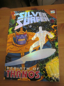 Silver Surfer - Birth of Thanos RARE 1st Edition TPB 1993 Marvel