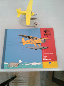 Differents articles de la collection tintin