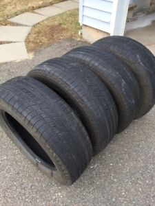 4 Used All season Tires for Sale - 225/65R17