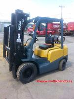 TCM PNEUMATIQUE ~ forlift + lift + chariot élévateur
