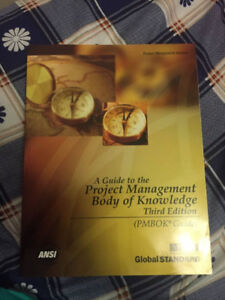 """""""Project Management Body of Knowledge"""" 3rd Edition"""