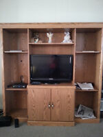 Entertainment unit and BBQ tables