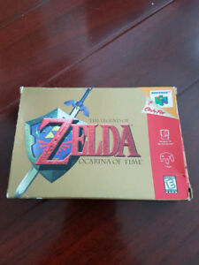 The Legend Of Zelda: Ocarina Of Time w/ Box and Manual