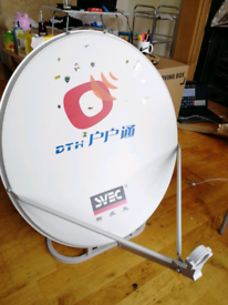 60 cm Portable Satellite Dish For Camping