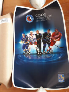 NHL HHOF 2009 Official Induction Ceremony Poster