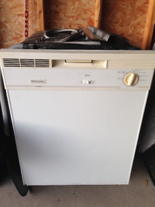 Used Frigidaire dishwasher, working