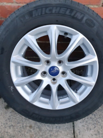 2 x mondeo mk 5 wheels and tyres.
