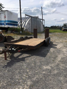 SEVEN TON TOW MASTER EQUIPMENT TRAILER FOR SALE