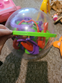 Adult and kids maze ball