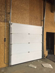 one more metal white garage door 8'X8'