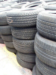 VARIOUS USED TIRES CALL WITH SIZES