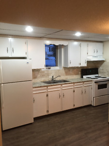 Newly renovated basement suite - INCLUDES utilities