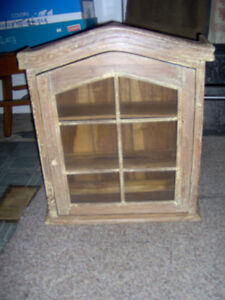 Antique or Vintage Cabinet – small sized  Small cabinet.