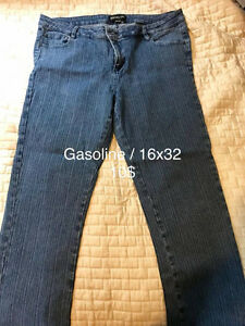 jeans, pantalons grande taille