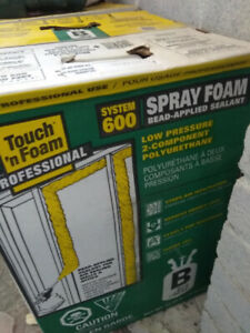 Touch 'n Foam Professional System 600 2-Component Spray Foam