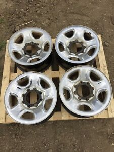 4 - 17 Dodge 3500 wheels - great second set REDUCED $200
