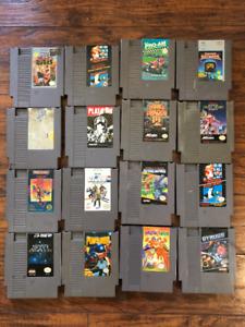 NES Games - Bulk or Individual