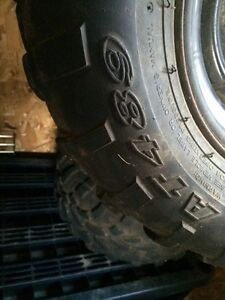 Set of 4 ATV/UTV tires and rims