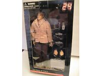 """Collectable boxed jack bauer doll from tv show """"24"""""""