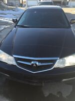 Remote start ACURA TL TYPE S 2003 BLACK Loaded leather heated