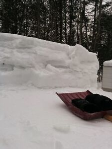 RV ROOF TOP SNOW REMOVAL IN CAMPGROUNDS London Ontario image 3