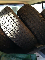 4 studded winter tires 245/75/r16