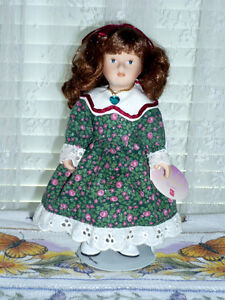 Porcelain Doll by RUSS: Clean: Like NEW:Smoke Free