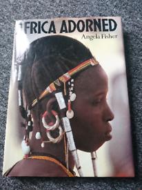 Africa Adorned huge book £10
