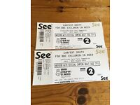 Carfest South x2 adult weekend tickets inc. camping