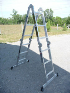 Articulating 13 ft. Aluminum Ladder