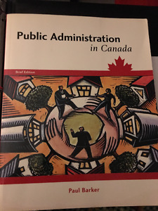 Public Administration in Canada
