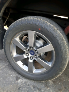 F150 rims and rubber